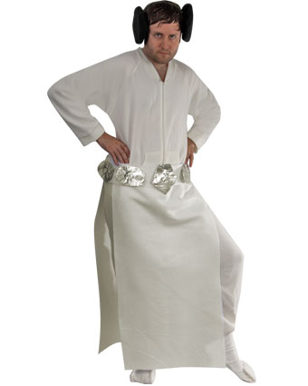 Pjc halloween princess leia costume pajamacity blog doing his best princess leia impression advertisements solutioingenieria Image collections
